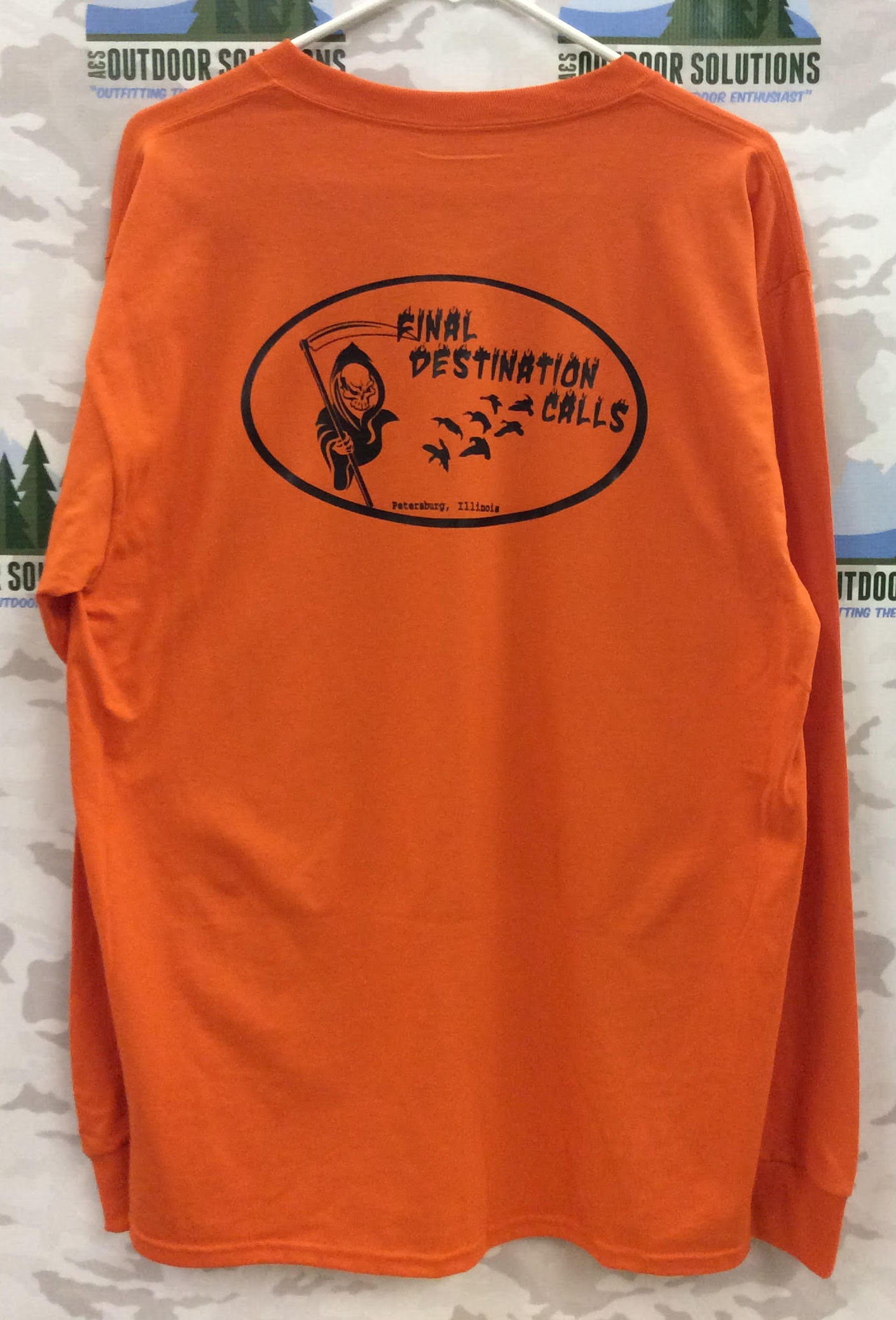 Final Destination Calls Long Sleeve Tee Back