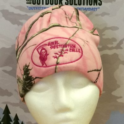 Final Destination Calls Realtree Pink Camo Beanie