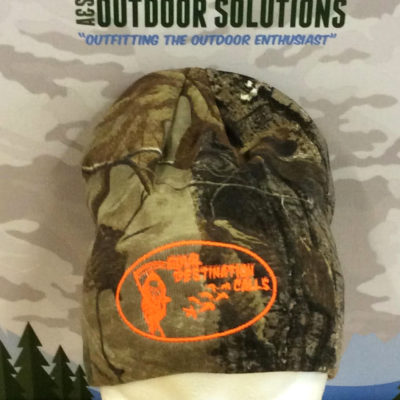 Realtree Beanie with Blaze Logo from Final Destination Calls