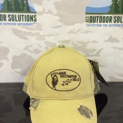 Khaki and Camo-patched with Brown Logo Cap from Final Destination Calls