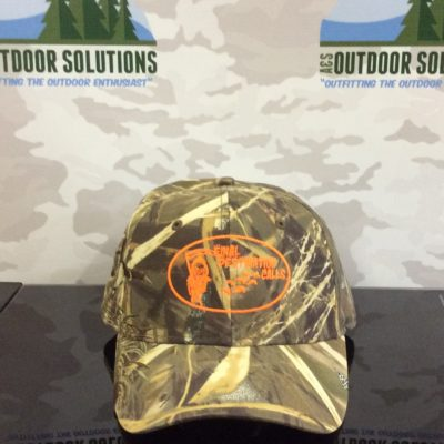 Realtree Max4 Ballcap with Orange Logo from Final Destination Calls