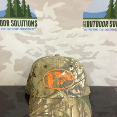 Realtree Ball cap with Orange Logo from Final Destination Calls