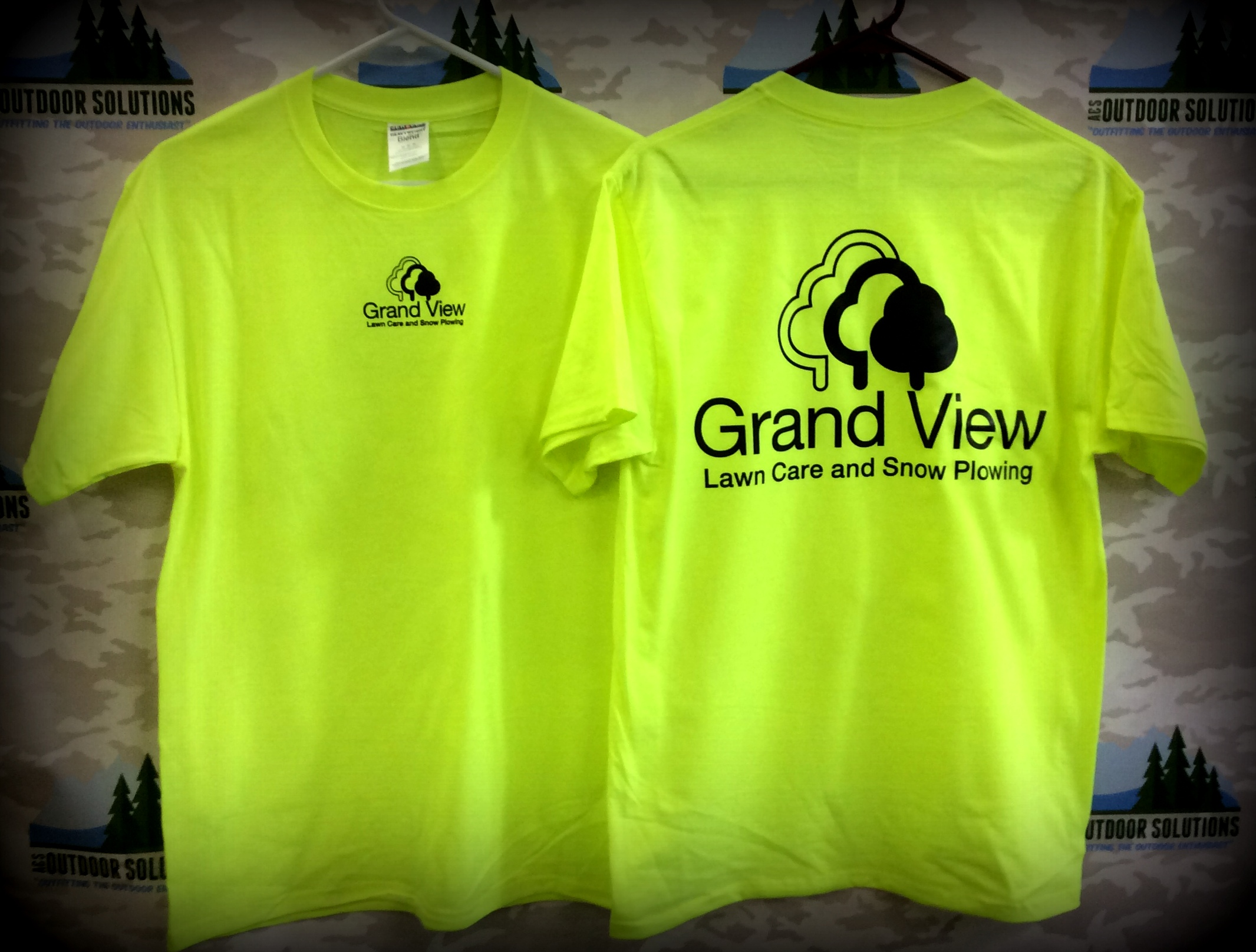 Grand View Lawncare & Snowplow Screen Print Tee