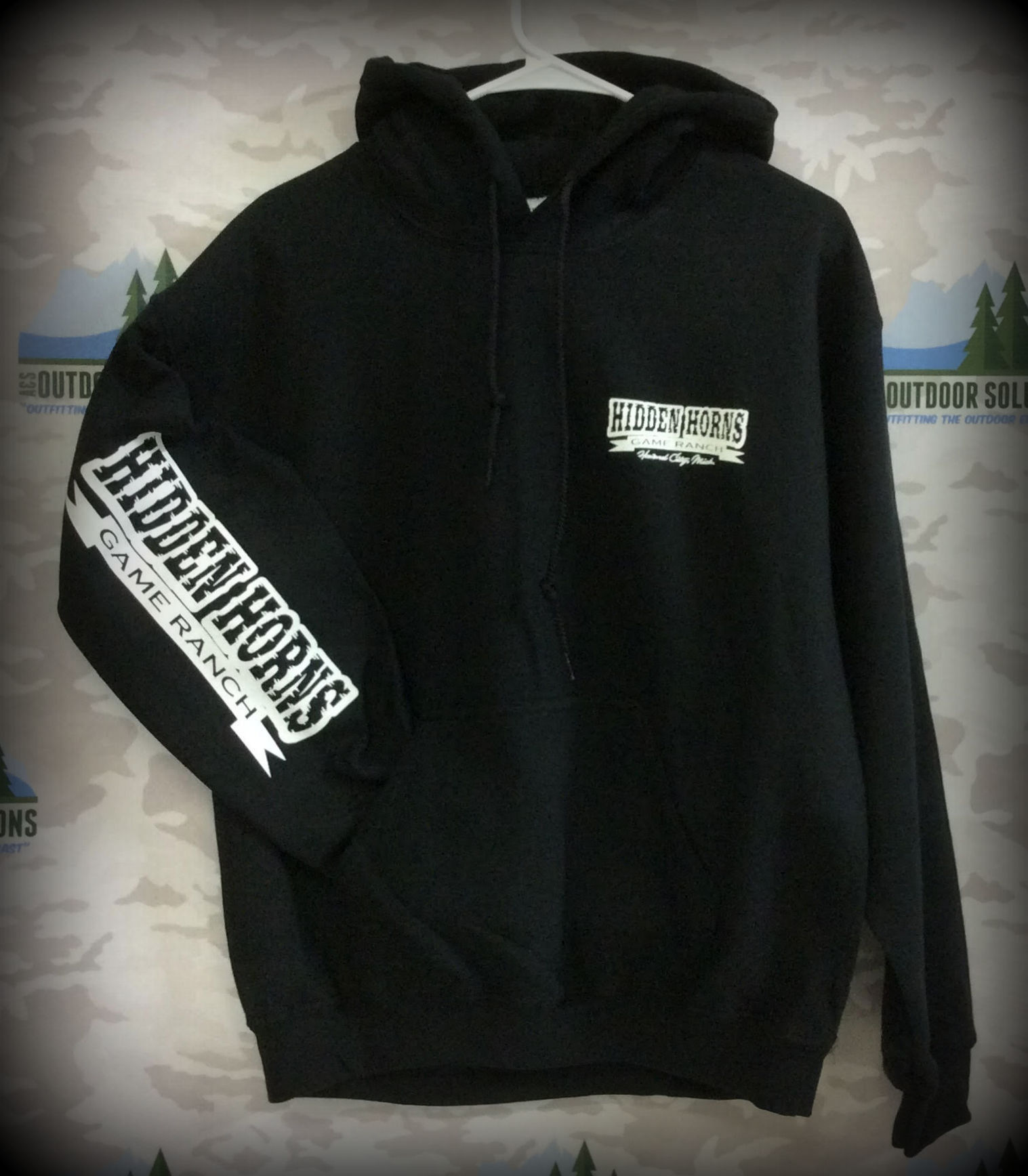 Hooded Pullover Sweatshirt from Hidden Horns Game Ranch